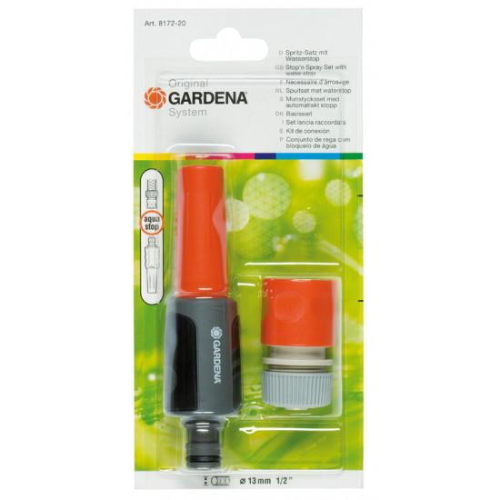 Necesaire arrosage 15mm de Gardena - Arrosage goutte à goutte - Outillages  dans Pistolet et lance