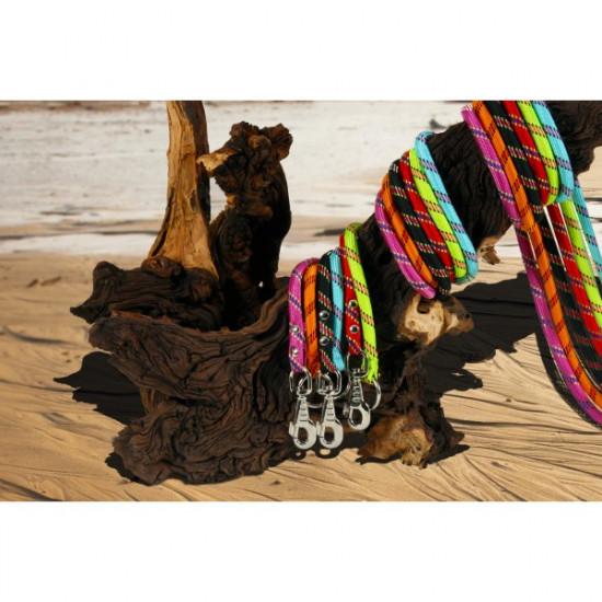 Laisse corde 1,20m turquoise de Zolux - Produit pour animaux dans Laisses