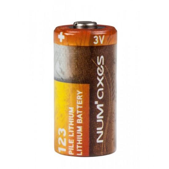 Pile lithium 3v cr 123a numaxes de Numaxes - dressage et anti aboiement pour chien dans Pile Lithium