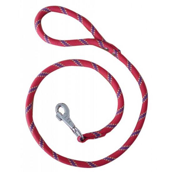 Laisse corde 13mm/ 2m rose de Zolux - Produit pour animaux dans Laisses