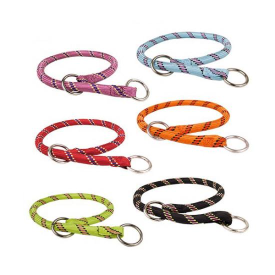 Collier corde etr.65cm rouge de Zolux - Produit pour animaux dans Colliers