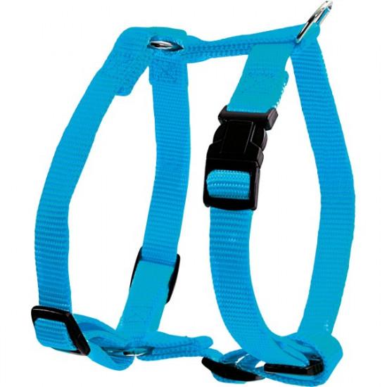 Harnais nylon reg 40mm bleuquoise de Zolux - Produit pour animaux dans Harnais