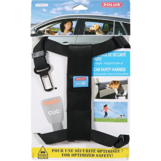 Harnais securite medium de Zolux - Produit pour animaux dans Transport pour chiens