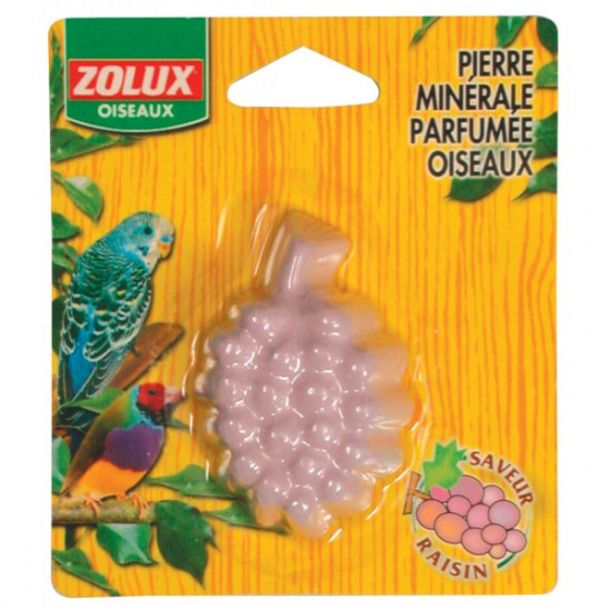 Pierre minerale ois.raisin de Zolux - Produit pour animaux dans Soin des oiseaux