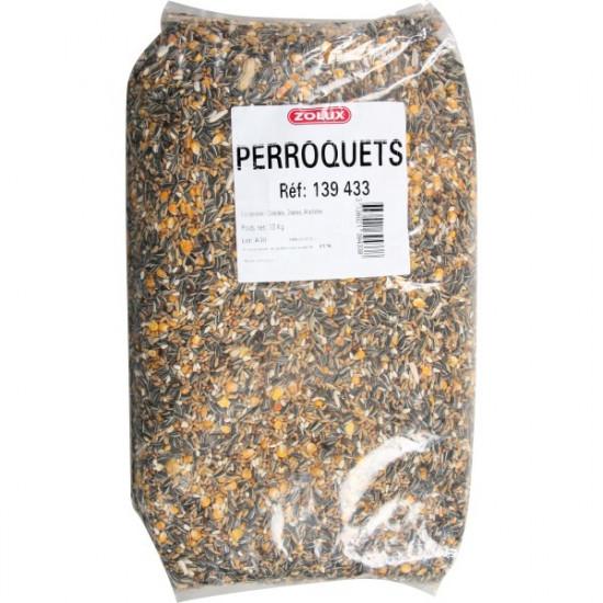 Melange perroquets sac 10kg de Zolux - Produit pour animaux dans Graines pour oiseaux