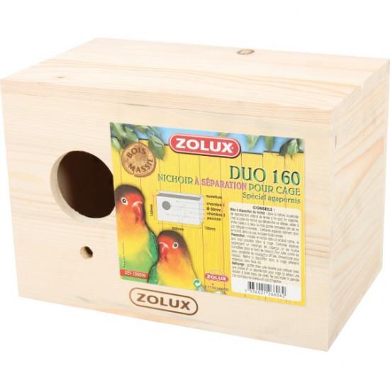 Nichoir bois duo 160 de Zolux - Produit pour animaux dans Nids