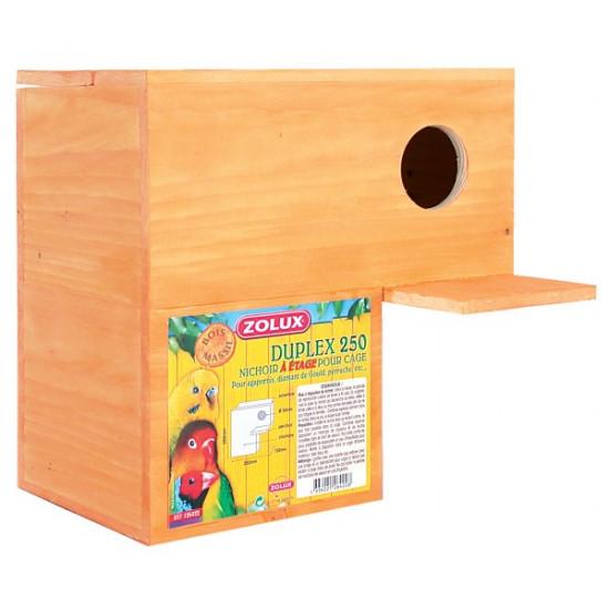 Nichoir bois duplex 250 de Zolux - Produit pour animaux dans Nids