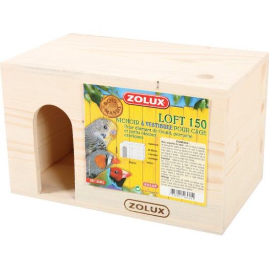 Nichoir bois loft 150 de Zolux - Produit pour animaux dans Nids