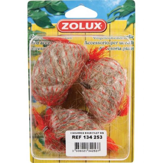 Bourres sous filet /3 de Zolux - Produit pour animaux dans Nids