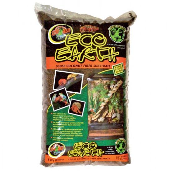 Fibre coco eco earth 8,8l de Zoomed - Accessoires reptiles dans Substrat de sol