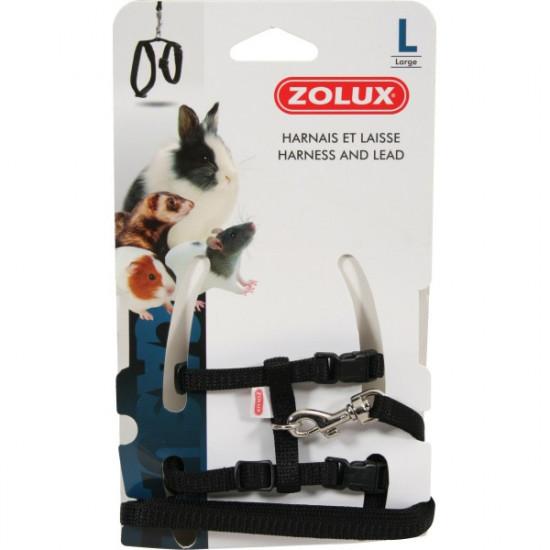 Kit harnais p.mam casual l noir de Zolux - Produit pour animaux dans Accessoires pour rongeurs