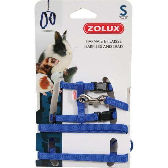Kit harnais p.mam casual s bleu de Zolux - Produit pour animaux dans Accessoires pour rongeurs