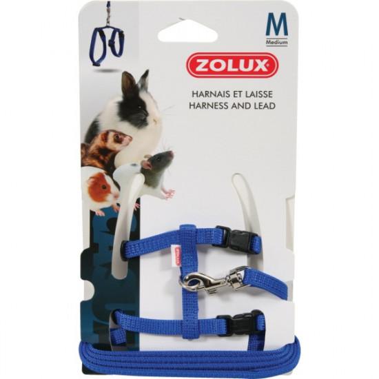 Kit harnais p.mam casual m bleu de Zolux dans Accessoires pour rongeurs