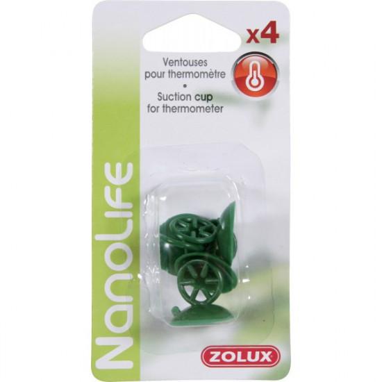 Ventouses thermometre x4 de Zolux - Produit pour animaux dans Chauffage / temperature