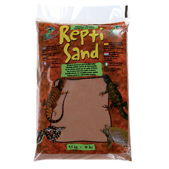 Sable reptisand rouge 4,5kg