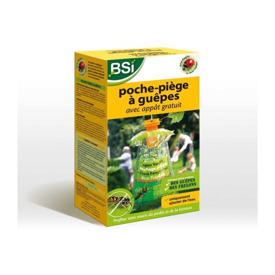 Poche-piege a guepes de BSI -Bio service international - traitement pour plantes dans Insectes volants et rampants