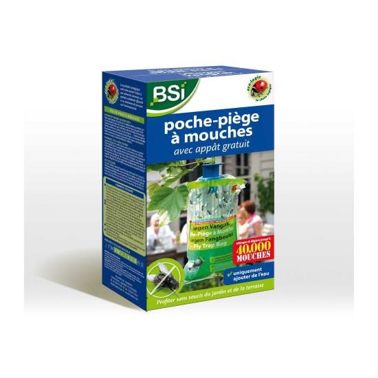 Poche-piege a mouches de BSI -Bio service international - traitement pour plantes dans Mouches