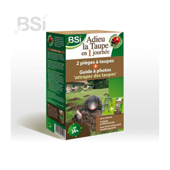 Adieu la taupe en 1 journee (2p+gd) de BSI -Bio service international - traiements des plantes dans Taupe