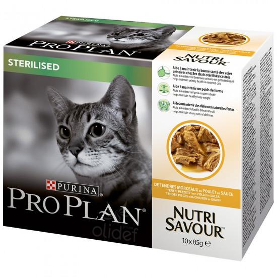 Pp chat wet steril poulet 850g de Proplan - croquette chien et chat dans Patees pour chats