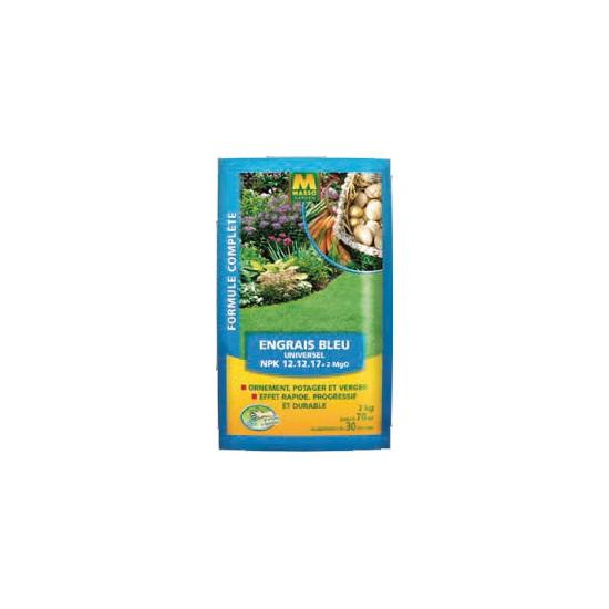 Engrais bleu 2kg de Masso - Engrais bio et soin des plantes dans Granule