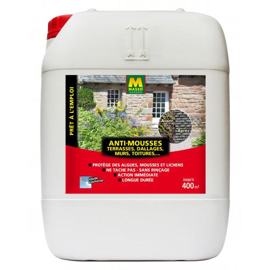 Anti mousse pae 20l de Masso - Engrais bio et soin des plantes dans Anti-mousse