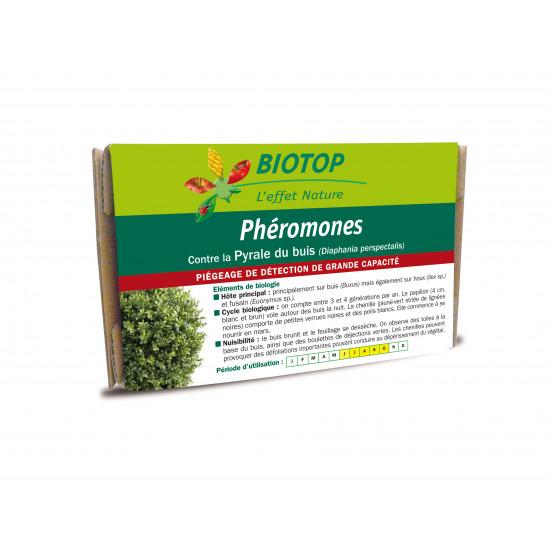 Pheromone pyrale du buis/2 de Biotop - Traitement bio, insectes pour plantes dans Phéromone et nématode