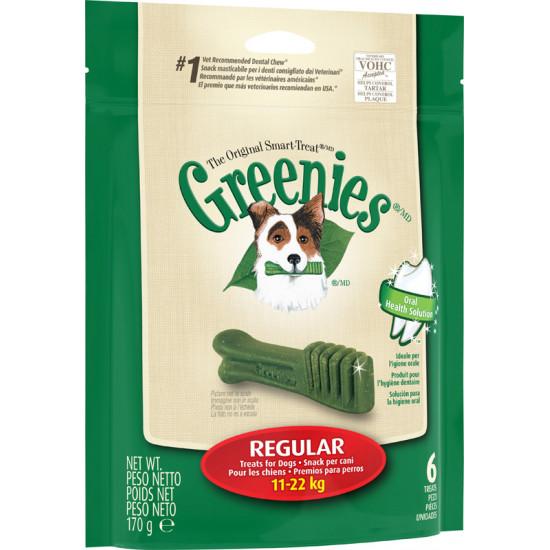 Greenies regular mini pack 170g