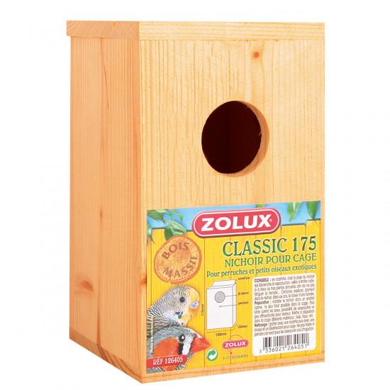 Nichoir bois classic 175 de Zolux - Produit pour animaux dans Nids
