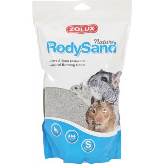 Terre bain r.sand nature 2l de Zolux - Produit pour animaux dans Hygiene rongeurs