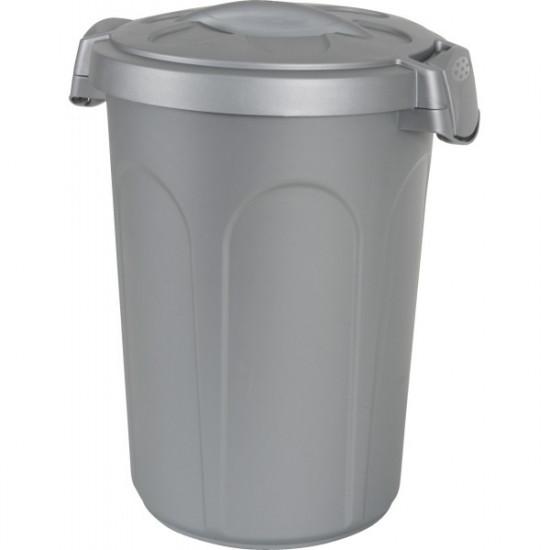 Container plast 46 l gris de Zolux - Produit pour animaux dans Croquettes pour chiens