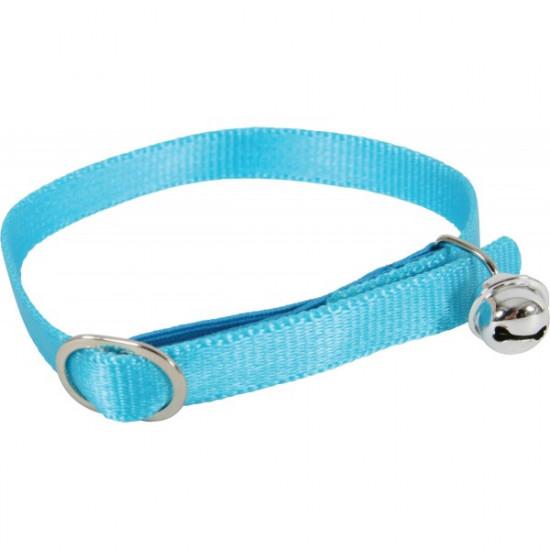 Collier nylon chat turquoise de Zolux - Produit pour animaux dans Laisses collier harnais pour chats