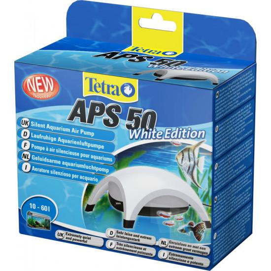Pompe air tetratec  aps50 blanche