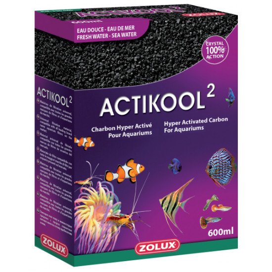 Charbon actikool 2 600ml de Zolux - Produit pour animaux dans Recharge Easybox