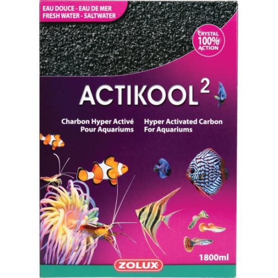 Charbon actikool 2 1.8l de Zolux - Produit pour animaux dans Produits de filtration