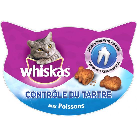Whiskas controle du tartre fish 40g