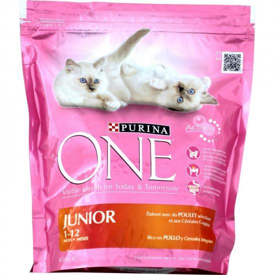 One sec junior poulet 1,5kg de Purina One - croquette pour chats dans Purina One