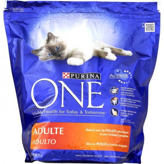 One sec adulte poulet 1,5kg de Purina One - croquette pour chats dans Purina One