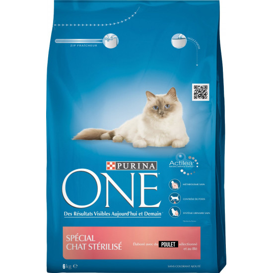 One sec chat sterilise poulet 6kg