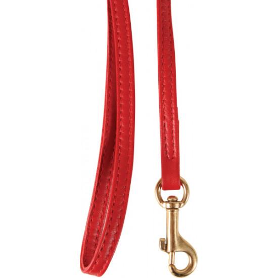 /laisse chat cuir 1m rouge de Zolux - Produit pour animaux dans Laisses collier harnais pour chats