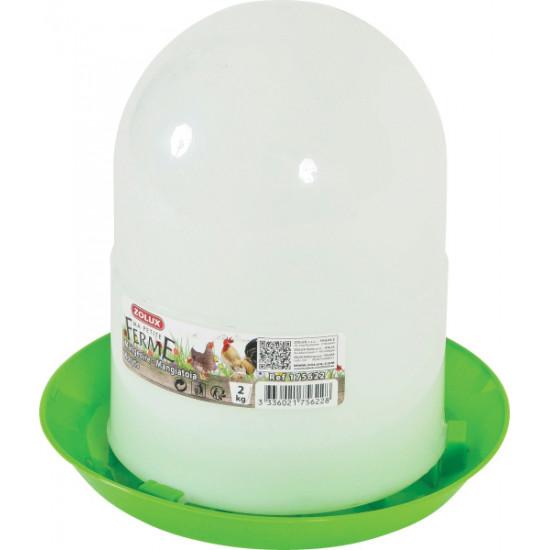 Mangeoire silo 2kg de Zolux - Produit pour animaux dans Mangeoires