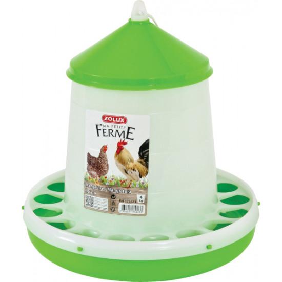 Mangeoire silo 4kg de Zolux - Produit pour animaux dans Mangeoires