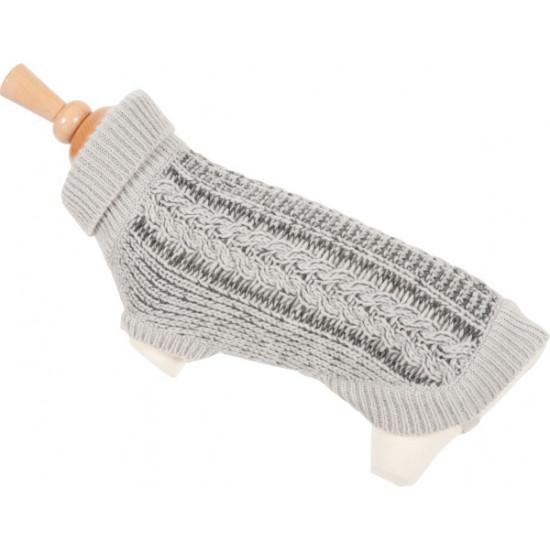 Zzpull twist t35 gris de Zolux - Produit pour animaux dans Pull et manteau