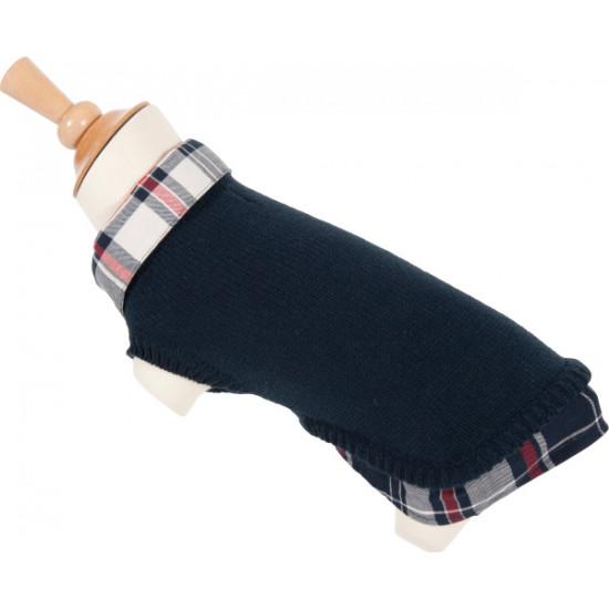 Zzpull chemise t30 bleu marine de Zolux - Produit pour animaux dans Pull et manteau
