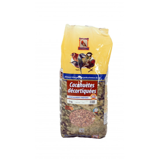 Sac cacahuetes decortiquees 5kg
