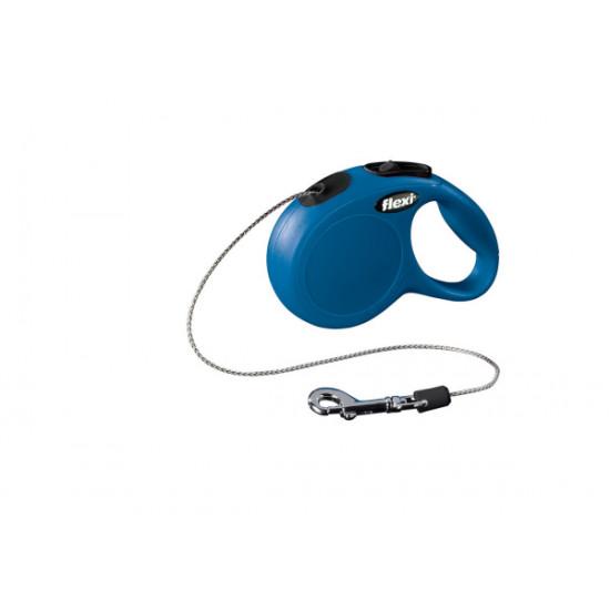 Flexi cat cordon xs 3m bleu de Flexi - laisse pour chien dans Laisses collier harnais pour chats