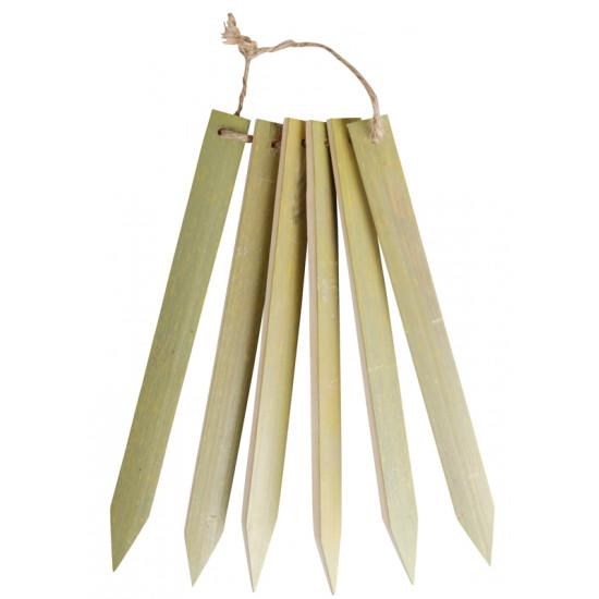 Marquoir plantation bambou longx6 de Esschert design - deco maison et jardin dans Accessoires de Semis