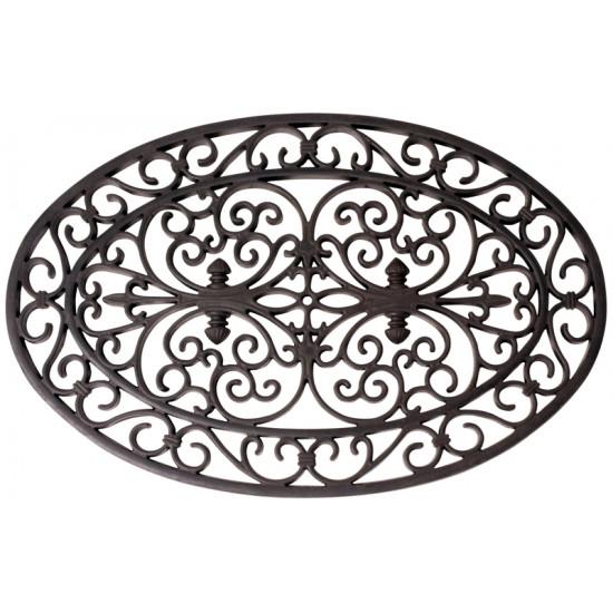 Paillasson caoutch. ovale de Esschert design - deco maison et jardin dans Tapis - paillasson - Nappe