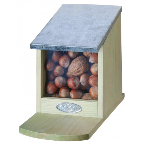 Mangeoire ecureuil de Esschert design - deco maison et jardin dans Gamelles et biberons