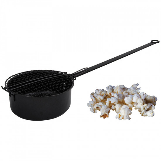 Poele popcorn de Esschert design - deco maison et jardin dans Cheminee