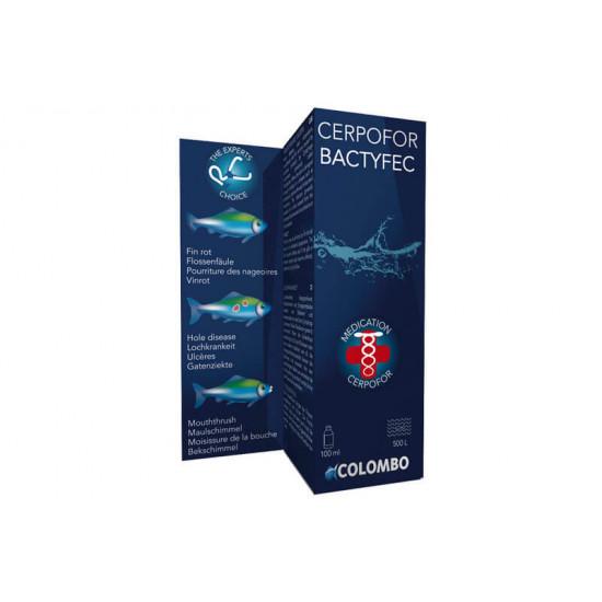 Bactyfec 100 ml / 500 ltr de Colombo - Produit pour aquariums dans Maladie